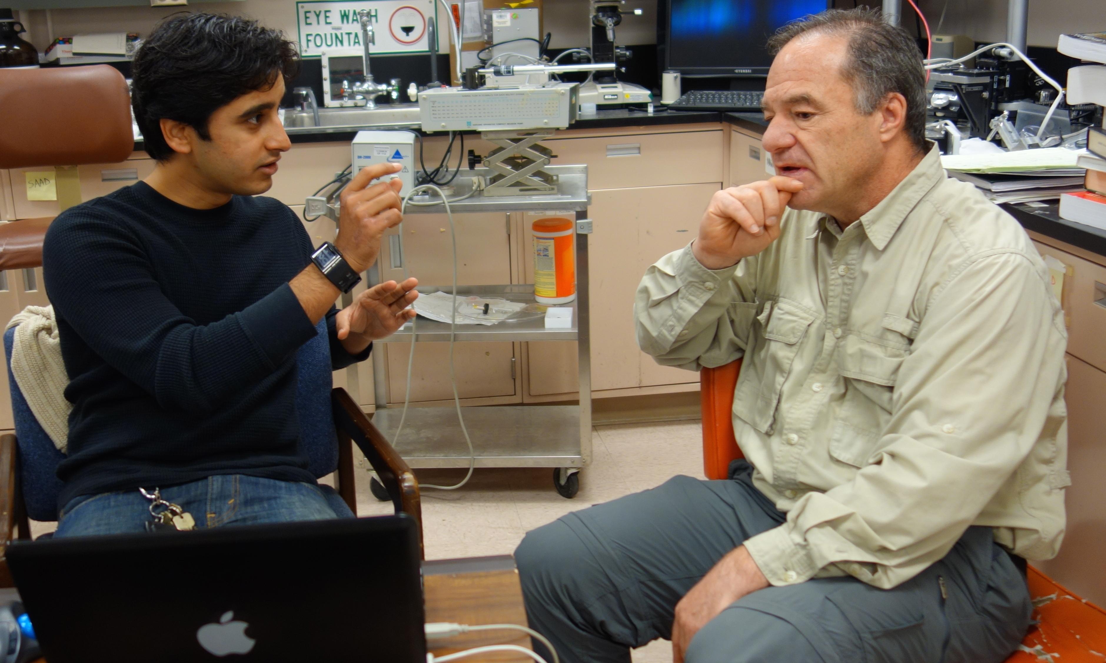 Saad Bhamla & Gerry Fuller